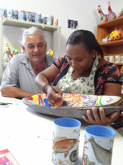 Township Angels and Klapwijk Glass Art in Mossel Bay